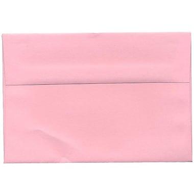 JAM Paper® A8 Invitation Envelopes, 5.5 x 8.125, Baby Pink, 250/Pack (155629H)
