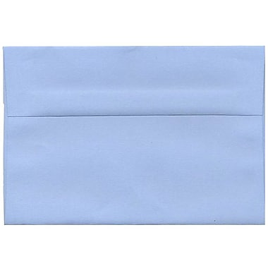 JAM Paper® A8 Invitation Envelopes, 5.5 x 8.125, Baby Blue, 250/Pack (155630H)