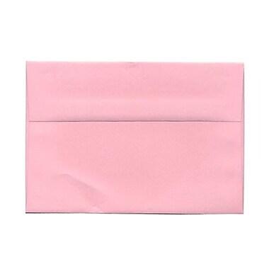 JAM Paper – Enveloppes A9 en papier recyclé, rose bébé, 250/paquet