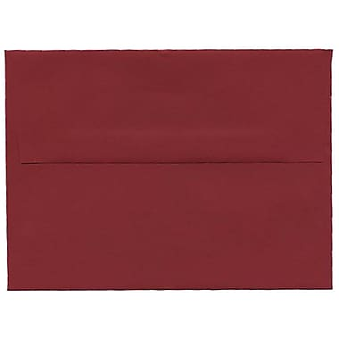 JAM Paper® A6 Invitation Envelopes, 4.75 x 6.5, Dark Red, 250/Pack (157458H)