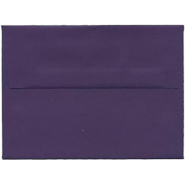 JAM Paper® A6 Invitation Envelopes, 4.75 x 6.5, Dark Purple, 250/Pack (157465H)