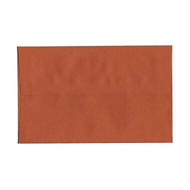 JAM Paper – Enveloppes A10 simples, orange foncé, 250/paquet