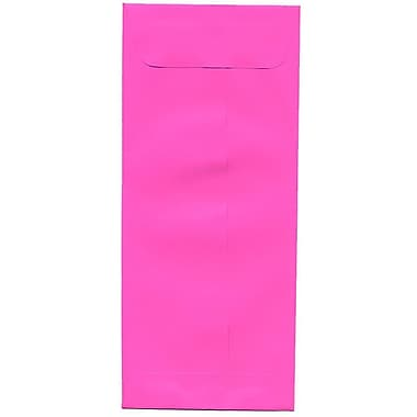 JAM Paper® #10 Policy Envelopes, 4 1/8 x 9.5, Brite Hue Ultra Fuchsia Pink, 500/Pack (15865H)