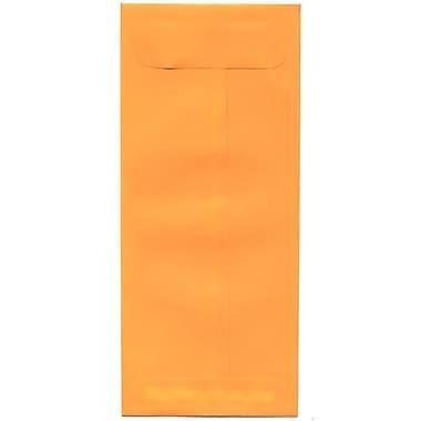 JAM Paper – Enveloppes commerciales Brite Hue no 10, 4,13 x 9,5 po, orange intense, 500/paquet