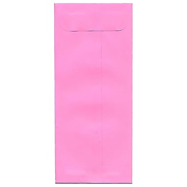 JAM Paper® #10 Policy Envelopes, 4 1/8 x 9.5, Brite Hue Ultra Pink, 500/Pack (15869H)