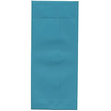 JAM Paper® #10 Policy Envelopes, 4 1/8 x 9.5, Brite Hue Sea Blue Recycled, 500/Pack (15874H)