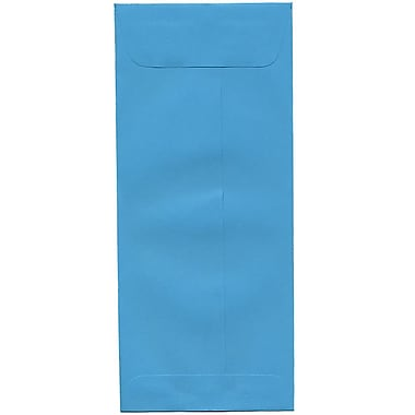 JAM Paper® #10 Policy Envelopes, 4 1/8 x 9.5, Brite Hue Blue Recycled, 500/Pack (15880H)