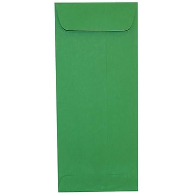 JAM Paper® #10 Policy Envelopes, 4 1/8 x 9.5, Brite Hue Green Recycled, 500/Pack (15884H)