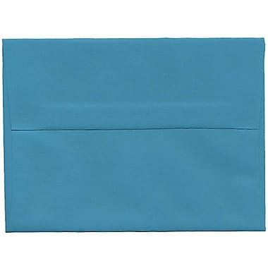 JAM Paper® A6 Invitation Envelopes, 4.75 x 6.5, Brite Hue Sea Blue Recycled, 250/Pack (15903H)