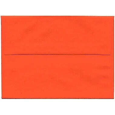 JAM PaperMD – Enveloppes en papier recyclé format A6 Brite Hue, orange, paq./250