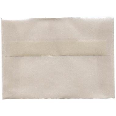 JAM PaperMD – Enveloppes translucides A1, platine, 50/paquet