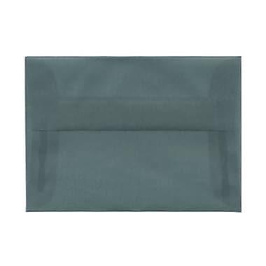 JAM Paper – Enveloppes translucides A1, bleu océan, 250/paquet