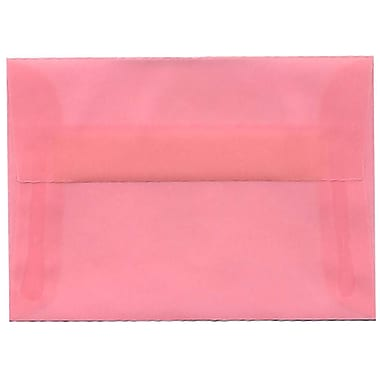 JAM Paper A1 Translucent Envelope, 250/Pack
