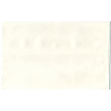 JAM Paper® A10 Invitation Envelopes, 6 x 9.5, Parchment White Recycled, 250/Pack (16082H)