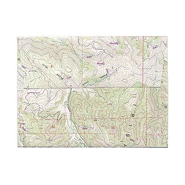 JAM Paper® A6 Invitation Envelopes, 4.75 x 6.5, Made with Real Map Surplus, 250/Pack (163730H)