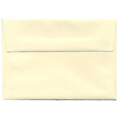 JAM Paper® 4bar A1 Envelopes, 3.63 x 5 1/8, Strathmore Ivory Wove, 250/Pack (191133H)