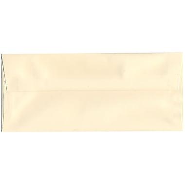 JAM Paper – Enveloppes Strathmore nº 10 (4,13 po x 9,5 po) en papier vélin, ivoire, 500/bte