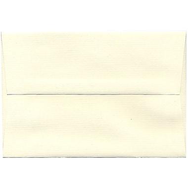 JAM Paper – Enveloppes Strathmore A8 en papier recyclé, blanc naturel, 250/paquet