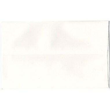 JAM Paper® A10 Invitation Envelopes, 6 x 9.5, Strathmore Bright White Wove, 250/Pack (191220H)