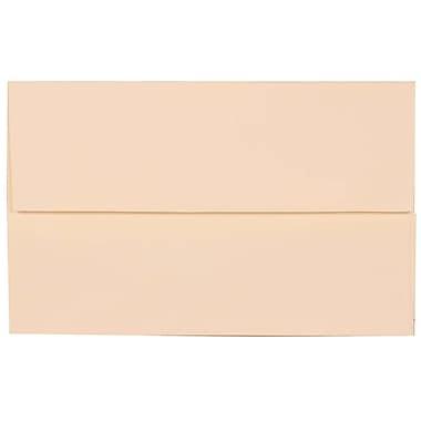 JAM Paper – Enveloppes Strathmore A10, fini vélin blanc naturel, 250/paquet