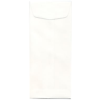 JAM Paper® #11 Policy Envelopes, 4.5 x 10.38, Strathmore Bright White Wove, 500/Pack (191251H)