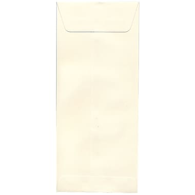 JAM Paper® #14 Policy Envelopes, 5 x 11.5, Strathmore Natural White Wove, 500/Pack (191255H)