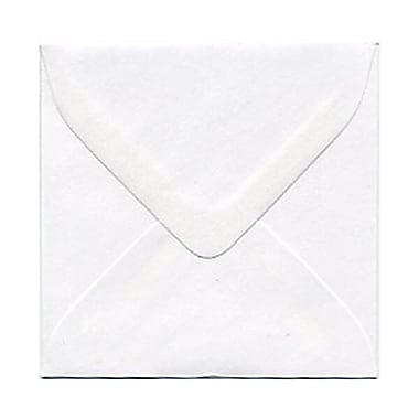 JAM Paper® 3.125 x 3.125 Mini Square Envelopes, White, 250/Pack (3992308H)