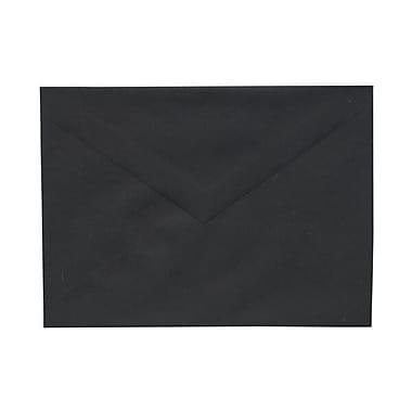 JAM Paper – Enveloppes A7, noir lisse, 250/paquet