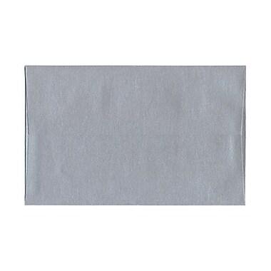 JAM Paper – Enveloppes Stardream A9, élégance argentée, effet métallisé, 250/paquet