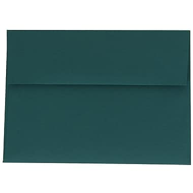 JAM Paper® A7 Invitation Envelopes, 5.25 x 7.25, Teal Blue, 250/Pack (21517152H)