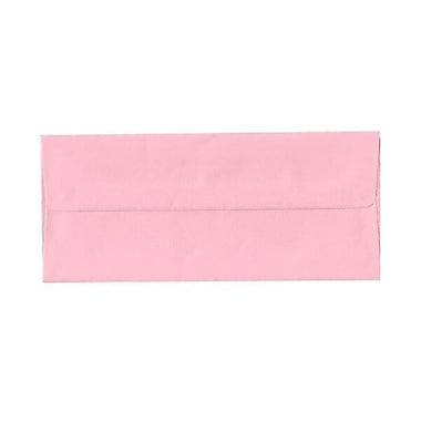 JAM Paper® #10 Business Envelopes, 4 1/8 x 9.5, Baby Pink, 500/Pack (2155777H)