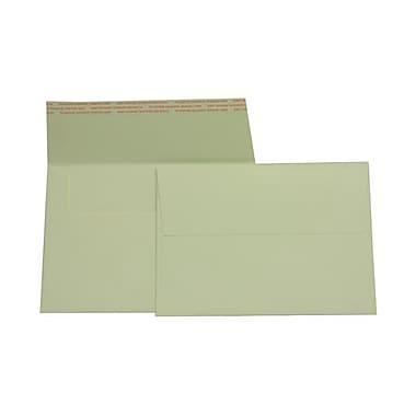 JAM Paper – Enveloppes Strathmore A7 en papier cartonné, blanc naturel, 50/paquet