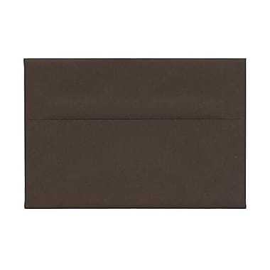 JAM Paper® A8 Invitation Envelopes, 5.5 x 8.125, Chocolate Brown Recycled, 250/Pack (233712H)