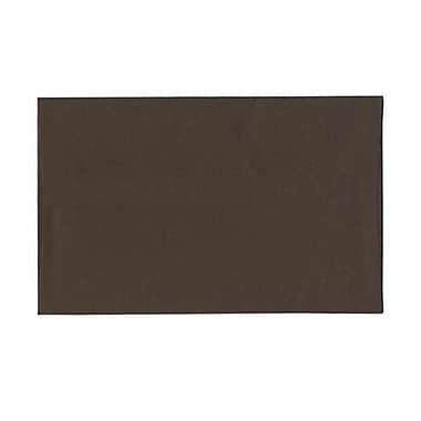 JAM Paper® A10 Invitation Envelopes, 6 x 9.5, Chocolate Brown Recycled, 250/Pack (233713H)