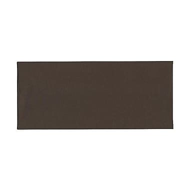 JAM Paper® #10 Business Envelopes, 4 1/8 x 9.5, Chocolate Brown Recycled, 500/Pack (233714H)