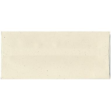JAM Paper® #10 Business Envelopes, 4 1/8 x 9.5, Milkweed Ivory Recycled, 500/Pack (2638H)