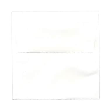 JAM Paper – Enveloppes de 5,5 x 5,5 po, blanc semi-glacée, 50/paquet