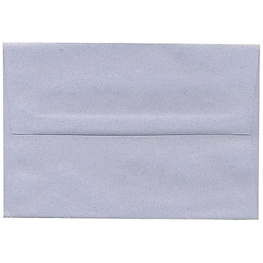 JAM Paper® A8 Invitation Envelopes, 5.5 x 8.125, Moonstone Blue Recycled, 250/Pack (28302H)