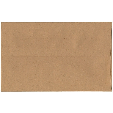 JAM Paper® A10 Invitation Envelopes, 6 x 9.5, Ginger Brown Recycled, 250/Pack (2831489H)