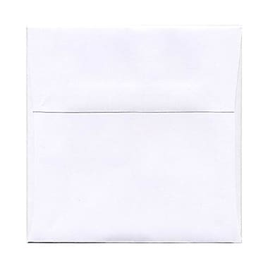 JAM Paper® 5 x 5 Square Envelopes, White, 250/Pack (28414H)