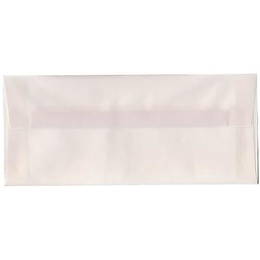 JAM Paper® #10 Business Envelopes, 4 1/8 x 9.5, Clear Translucent Vellum, 500/Pack (2851306H)