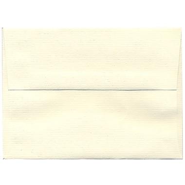 JAM Paper – Enveloppes Strathmore A6, fini vergé blanc naturel, 250/paquet