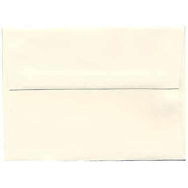 JAM Paper – Enveloppes Strathmore A6, papier vélin blanc naturel, 250/paquet