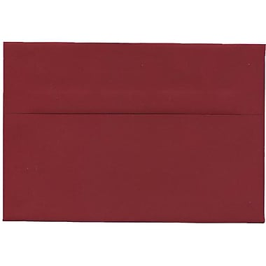 JAM Paper® A8 Invitation Envelopes, 5.5 x 8.125, Dark Red, 250/Pack (31511319H)
