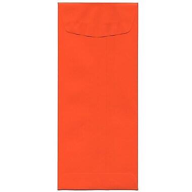 JAM Paper® #11 Policy Envelopes, 4.5 x 10.38, Brite Hue Orange Recycled, 500/Pack (3156394H)