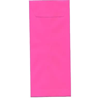 JAM Paper® #12 Policy Envelopes, 4.75 x 11, Brite Hue Ultra Fuchsia Pink, 500/Pack (3156396H)