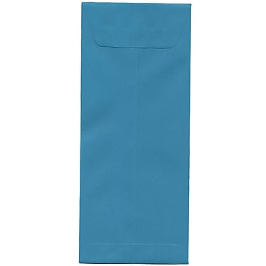 JAM Paper® #12 Policy Envelopes, 4.75 x 11, Brite Hue Sea Blue Recycled, 500/Pack (3156397H)