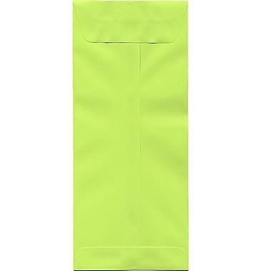 JAM Paper® #14 Policy Envelopes, 5 x 11.5, Brite Hue Lime Green, 500/Pack (3156403H)