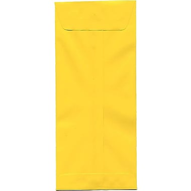 JAM Paper® #14 Policy Envelopes, 5 x 11.5, Brite Hue Yellow Recycled, 500/Pack (3156404H)