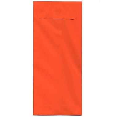JAM Paper® #14 Policy Envelopes, 5 x 11.5, Brite Hue Orange Recycled, 500/Pack (3156405H)